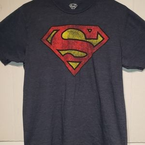 Superman mens graphic tee-shirt size medium